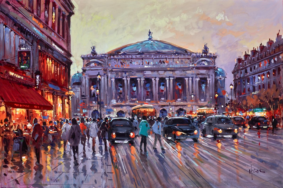 Bright City Lights by henderson cisz -  sized 30x20 inches. Available from Whitewall Galleries